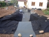 Postup prací při výstavbě jezírka, Praha