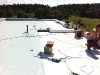 Zateplení ploché střechy polistirénovými spádovými klíny